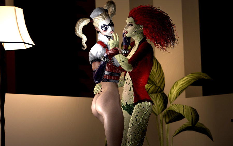 asylum harley nude quinn arkham Villager and wii fit trainer