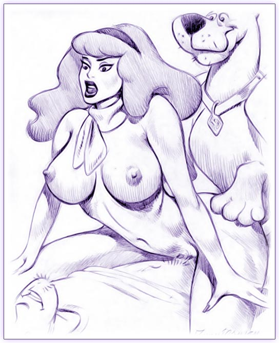 scooby daphne doo and naked velma Highschool of the dead uncensored