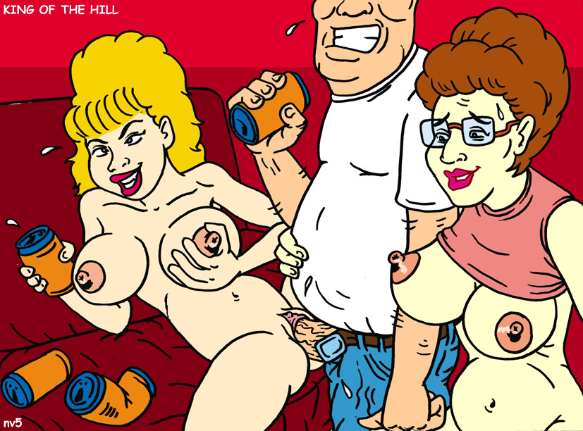 the sex of king hill comics Rick and morty alien porn