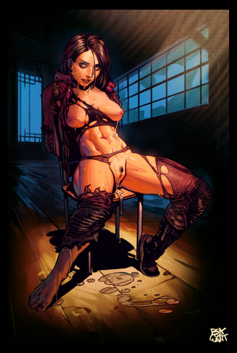 tied cum guy up to forced Scooby doo ghoul school porn