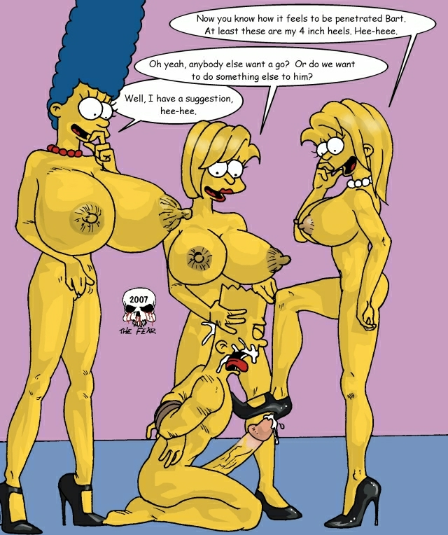 the imagefap and fear bart marge Risk of rain 2 huntress thicc mod