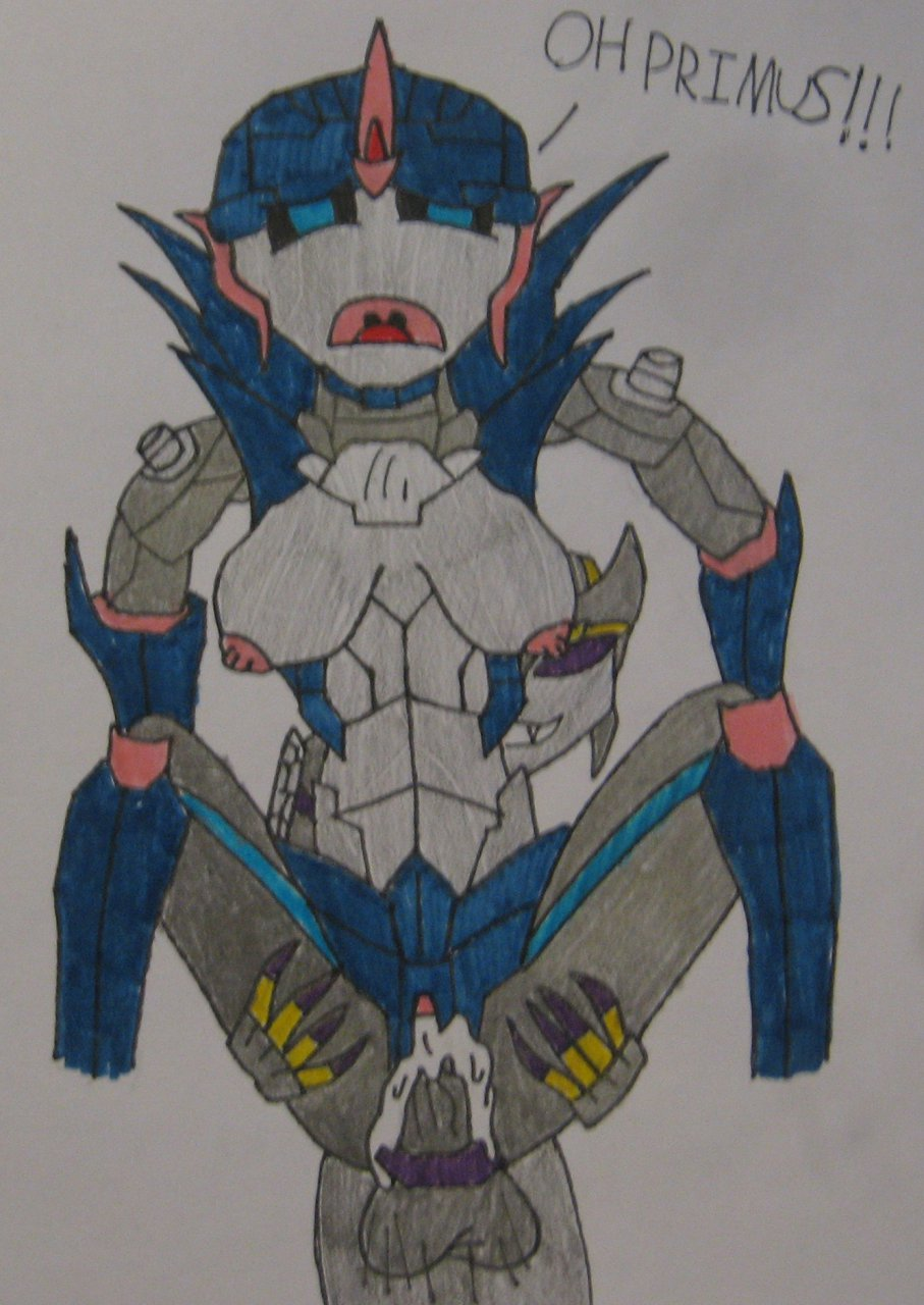and jack arcee prime transformers kiss Mary and the witch's flower