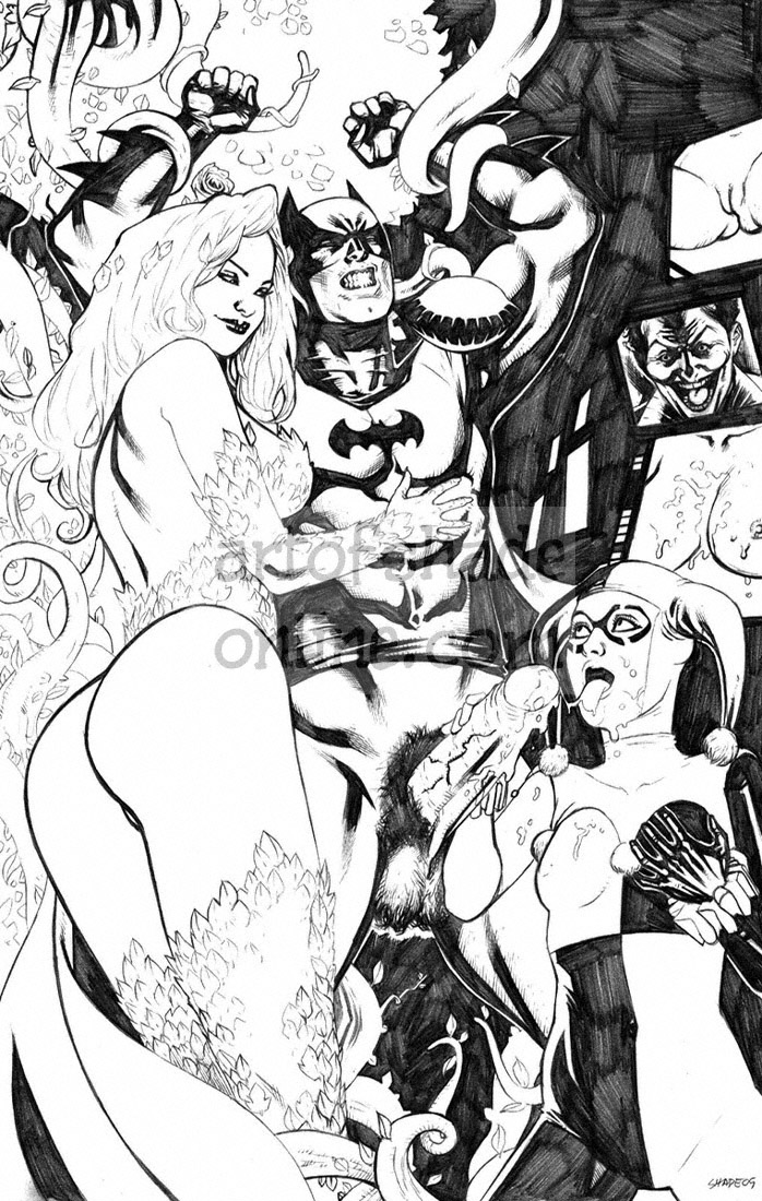 harley quinn and porn nightwing Shigure kenichi the mightiest disciple