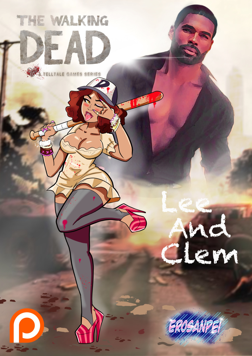 comics clementine dead the walking porn Trent from total drama island