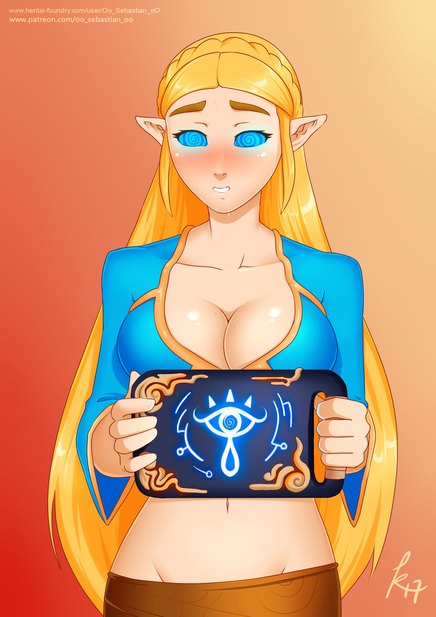 of breath wild zora female the Spooky house of jumpscares hentai